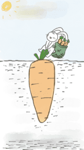 rabbit pulling carrot 2256824 1280